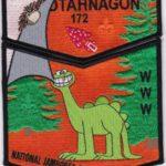 Otahnagon Lodge #172 2017 National Jamboree Black Border Set S42/X14