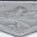 Tkaen DoD Lodge #30 25th Anniversary Flap Gray Ghost S43