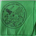 Look Back – Section NE-3A 2002 Conclave Neckerchief