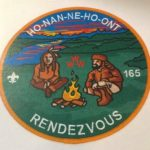 Ho-Nan-Ne-Ho-Ont Lodge #165 Rendezvous Jacket Patch J2