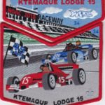 Ktemaque Lodge #15 2018 NOAC Numbered Set Red Border S75 X42