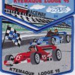 Ktemaque Lodge #15 2018 NOAC Numbered Set Blue Border S76 X43