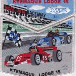 Ktemaque Lodge #15 2018 NOAC Numbered Set SMY Border S77 X44