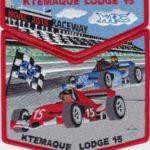 Ktemaque Lodge #15 2018 NOAC Fundraiser Set Red Border S78 X45