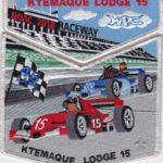 Ktemaque Lodge #15 2018 NOAC Delegate Set Silver Mylar Border S80 X47
