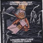Lowanne Nimat Lodge #219 2017 Jamboree Set S36 X20 – Thor