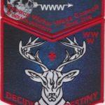 Tschipey Achtu Lodge #(95) 2018 NOAC Trader Red Set F4 X18