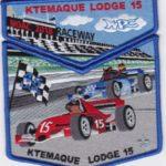 Ktemaque Lodge #15 2018 NOAC Trader Set Blue Border S79 X46
