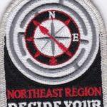 Northeast Region Order of the Arrow 2018 NOAC Region Chief SMY Dangle