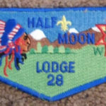 Half Moon Lodge #28 Service Flap S40a