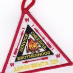 Ashokwahta Lodge #339 Vigil Patch X6