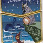 Kittan Lodge #364 2018 NOAC Midgard Serpent GMY Border Set S50 X32