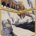 Kittan Lodge #364 2018 NOAC Valhalla Gold Mylar Border Set S51 X33