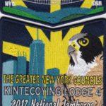 Kintecoying Lodge #4 2017 National Jamboree Set S9 X6