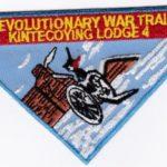 Kintecoying Lodge #4 Revolutionary War Trail X10