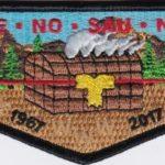 Ho-De-No-Sau-Nee Lodge #159 50th Anniversary Flap 1967-2017 S77