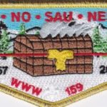 Ho-De-No-Sau-Nee Lodge #159 50th Anniversary LEC Flap 1967-2017 S78
