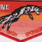 Lowanne Nimat Lodge #219 2020 Banquet Sponsor Flap eS2020-1