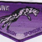 Lowanne Nimat Lodge #219 2021 Banquet Sponsor Flap eS2021-1