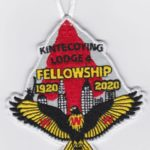 Kintecoying Lodge #4 2020 Fellowship Patch 4eA2020-2