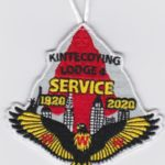 Kintecoying Lodge #4 2020 Service Patch 4eA2020-4