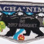 Nacha Nimat Lodge #86 2014 Banquet Flap eS2017