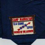 Area 2-A 1949 Conclave Staff(?) Neckerchief
