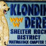 Buckskin Lodge #412 Matinecock Chapter 2020 Klondike Derby Participant Patch eX2020-1