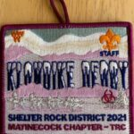Buckskin Lodge #412 Matinecock Chapter 2021 Klondike Derby Staff Patch eX2021-2